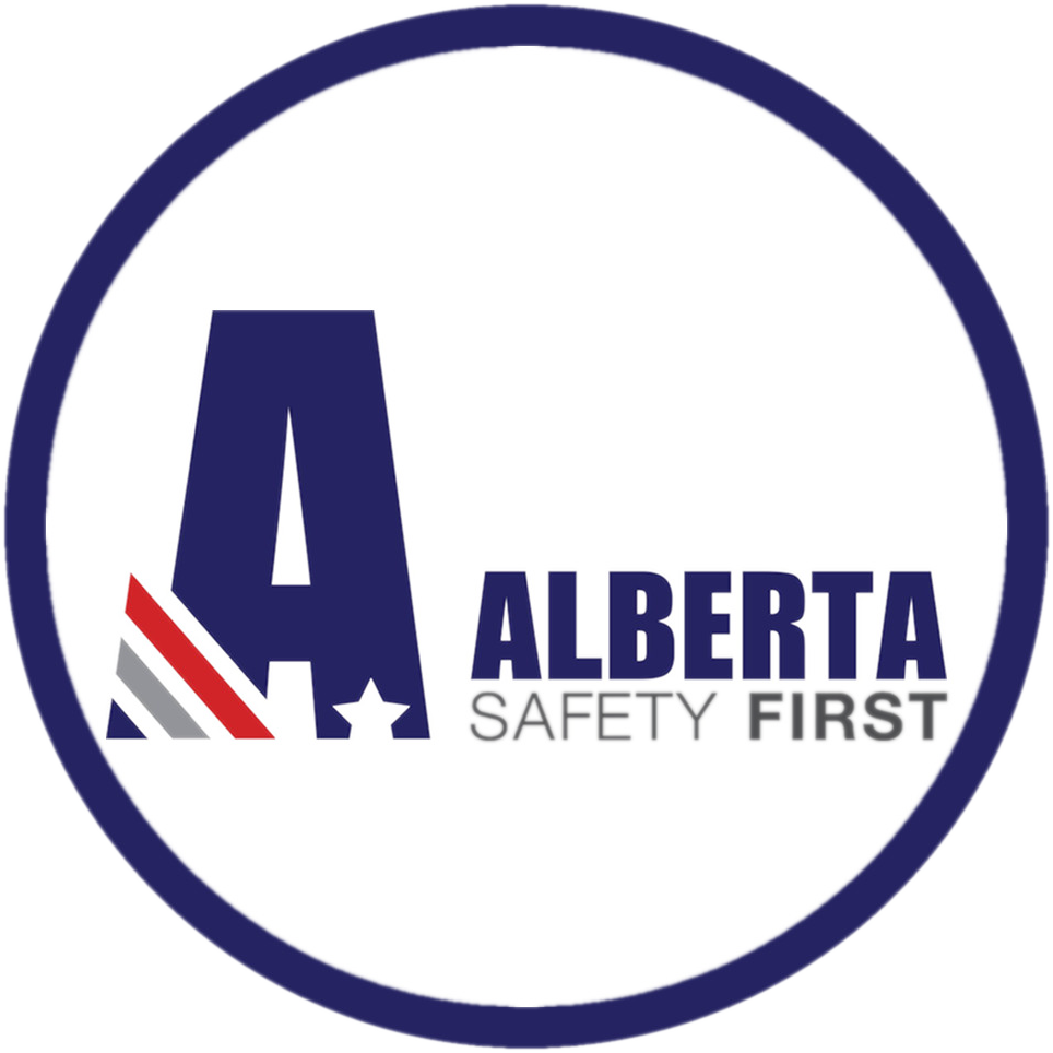 Logo Alberta Safety First