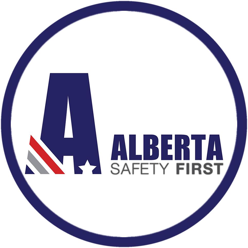 Logo Alberta Safety First